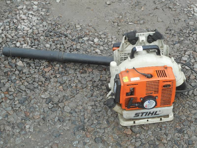 stihl br400 backpack blower manual