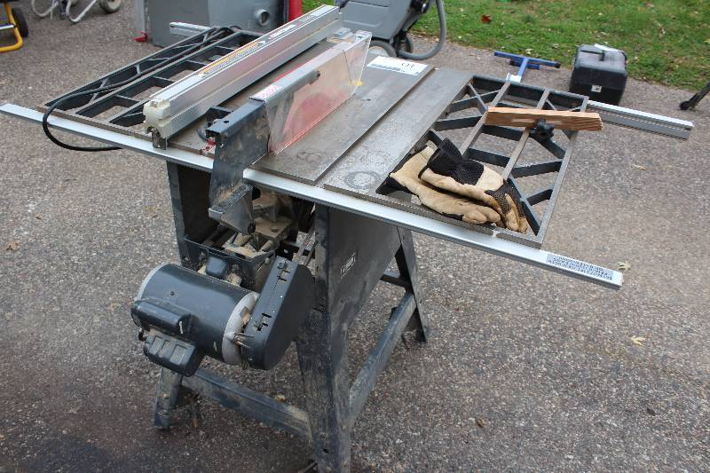 Craftsman 10 Inch Table Saw Xr 2424 Bloomington Truck