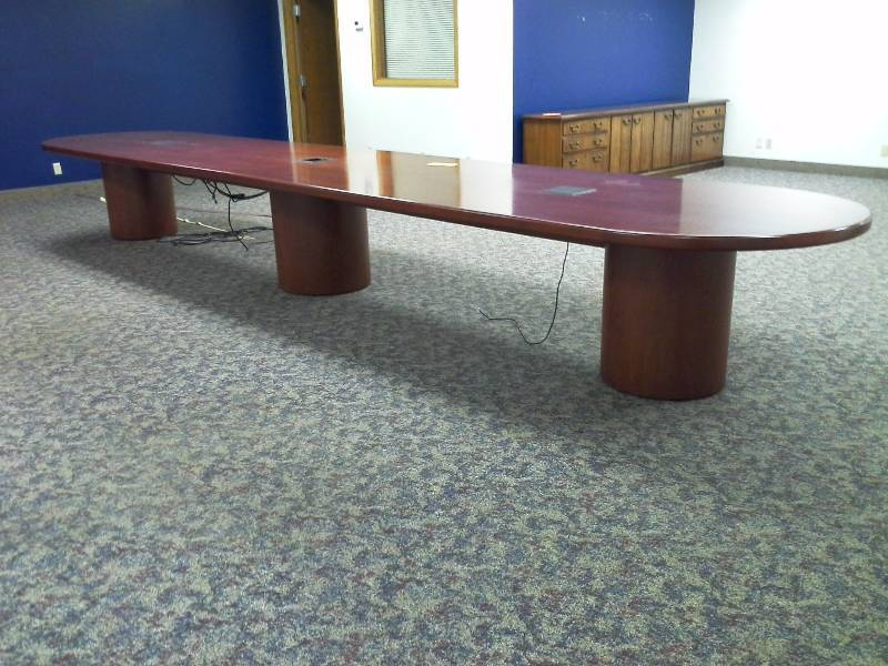 Solid Wood Conference Table Norwood