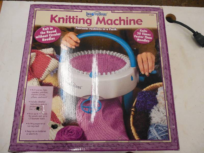Knitting Machine Questions : Innovations knitting machine general merchandise