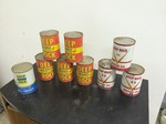 Assorted Oil / Cans  Full   Lot of 9