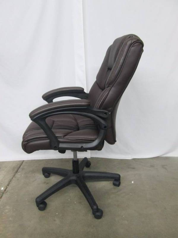 Alcove Executive Office Chair | November Store Returns ... Black Office Chair Back View