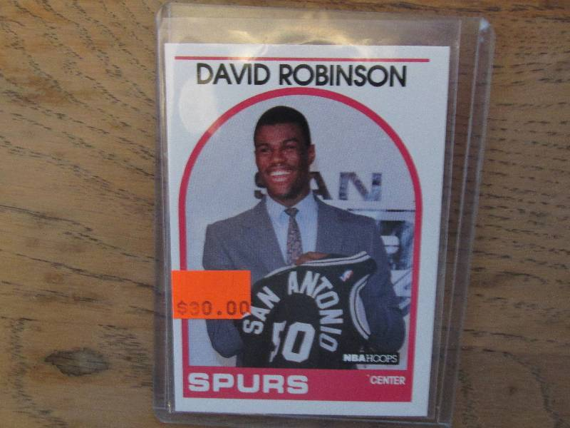 1989 1990 Nba Hoops David Robinso Sports Collector