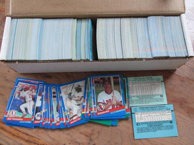 Box Of 1991 Donruss Baseball Cards Sports Collector
