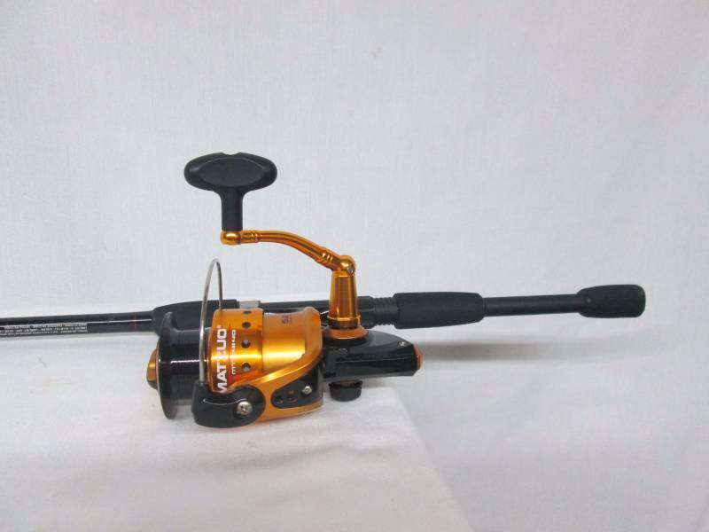 matzuo mz 240 rod and reel november store returns