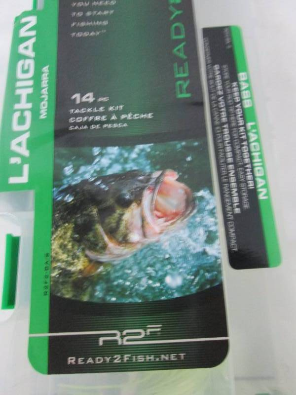 Ready 2 fish multi specs tackle box november store for Ready 2 fish