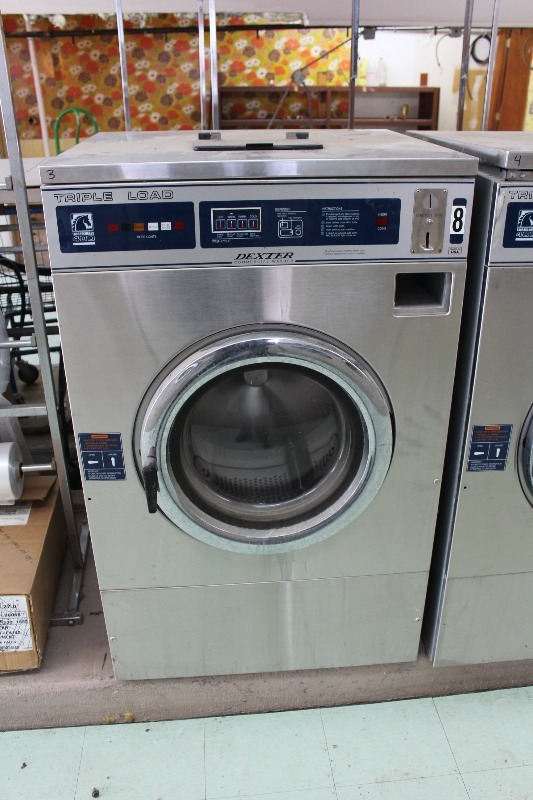 Dexter T400 Triple Load Washer Laundromat Liquidation