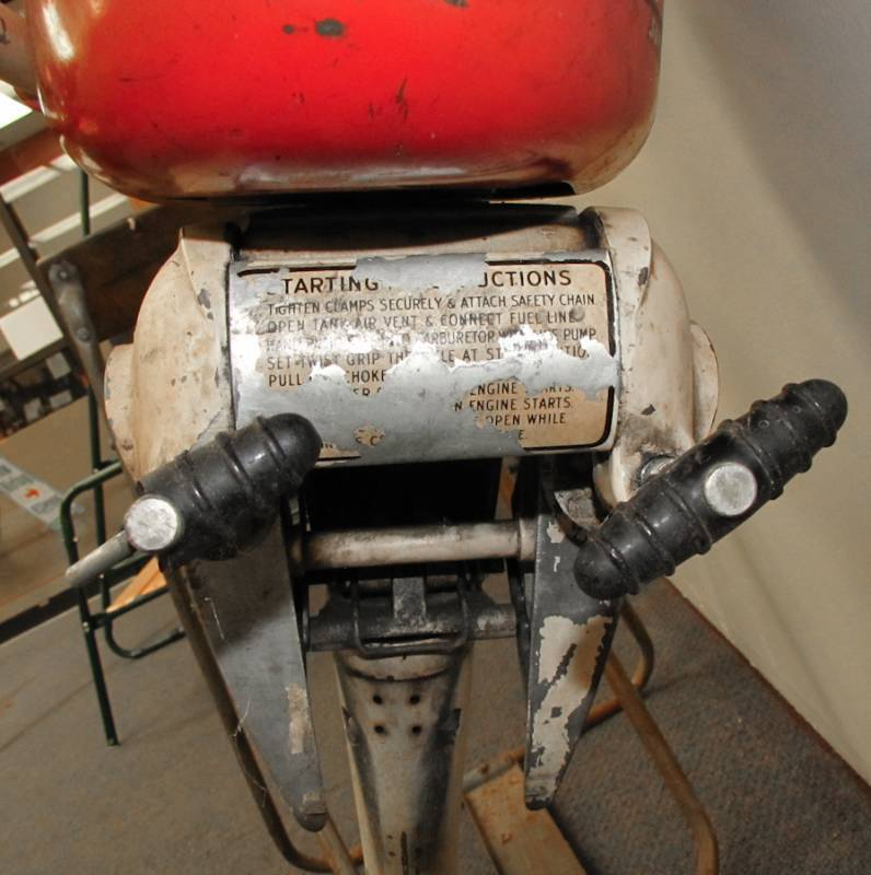Vintage Mercury Outboard Motor Super Silent Six Twc