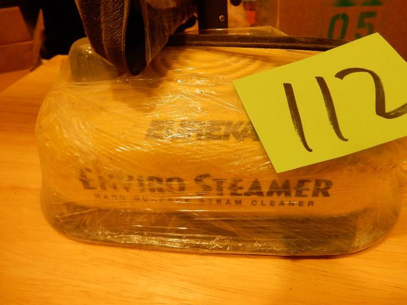 eureka enviro steamer how to use