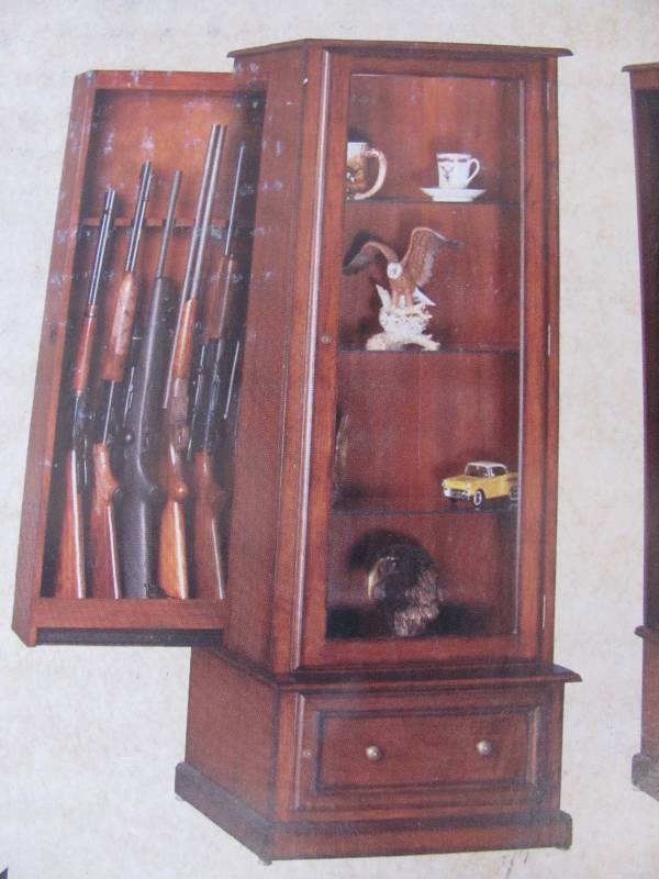10 Gun Curio Cabinet It S An Outdoor Sportsman Home