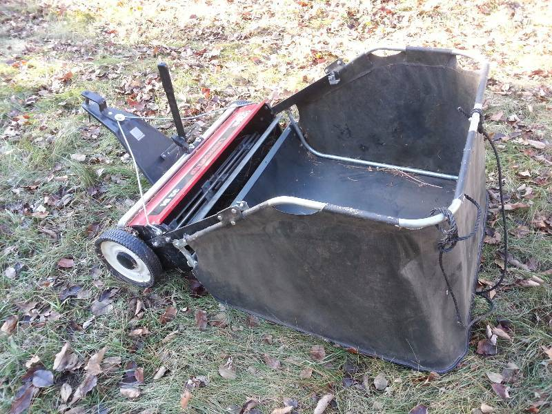 Lawn Sweeper Parts : Agri fab quot lawn sweeper st cloud estate auction