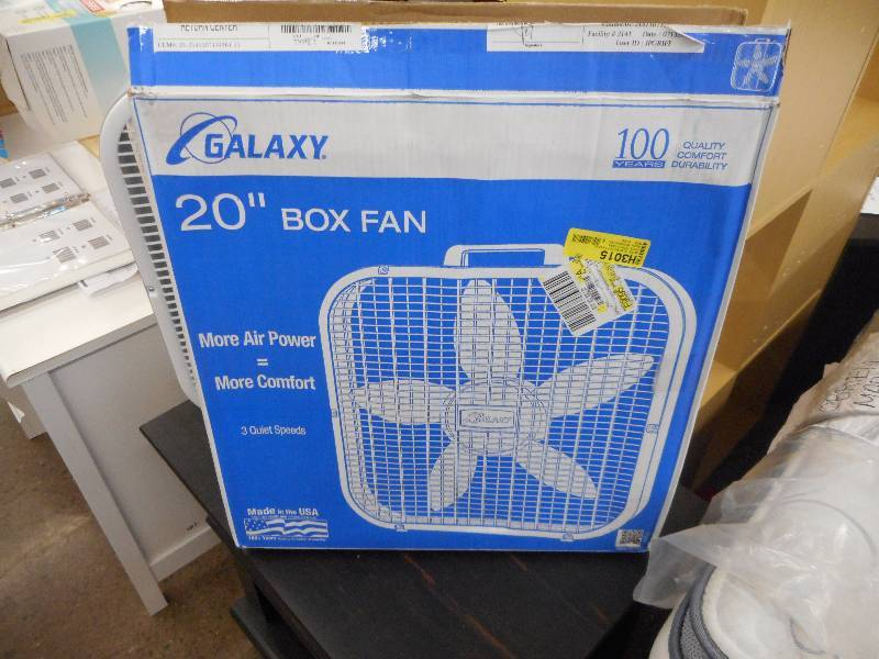 Galaxy Box Fan : Quot galaxy box fan general merchandise holiday gifts