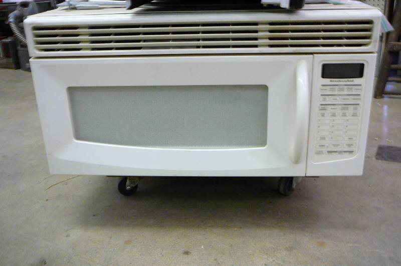 Microwave Hood 33 Wide 15 High ~ Consignment auction in alexandria minnesota by kan