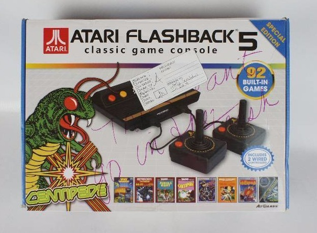 Atari flashback 5 classic game console 92 built in games - Atari flashback classic game console game list ...