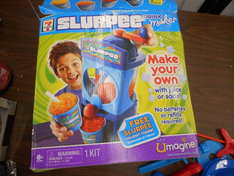 7 eleven slurpee drink maker instructions