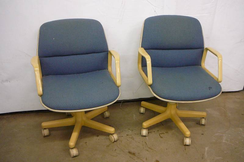 2 Office Chairs Consignment 317 K Bid