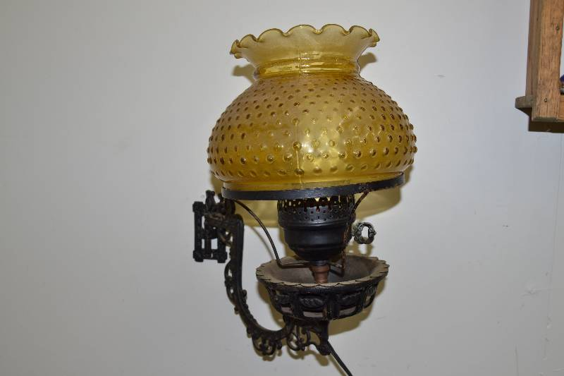 Wall Mounted Inspection Lamp : Wall mounted lamp January Vintage, Collectibles and Misc. items K-BID