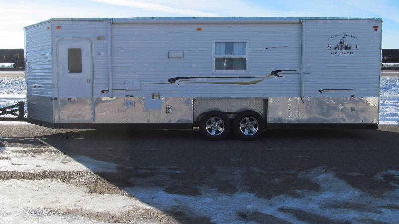 Man toy sale in royalton minnesota by direct asset for Toy hauler fish house