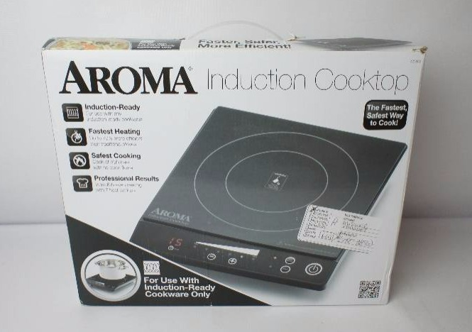 aroma induction cooktop general merchandise 495 k bid 87701