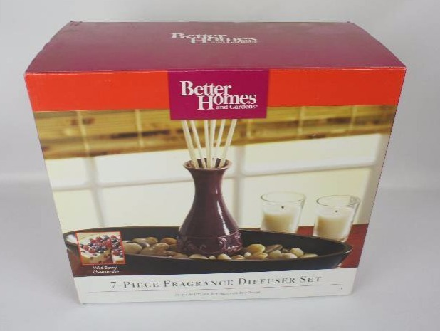 Better homes and gardens 7 piece fragrance diffuser set home improvement decor 511 k bid Better homes and gardens diffuser