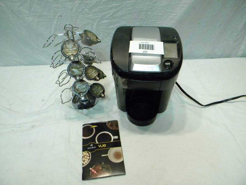 Keurig Coffee Maker and Cup Stand K.A.S. and Stuff - Brooklyn Park #31 Estate Items, General ...