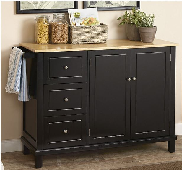 mcleland design kitchen cabinet black sota surplus
