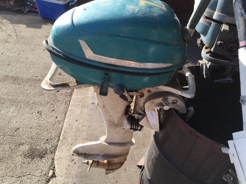 Scott Atwater Mfg Co 5 Hp Outboard Motor Outboard