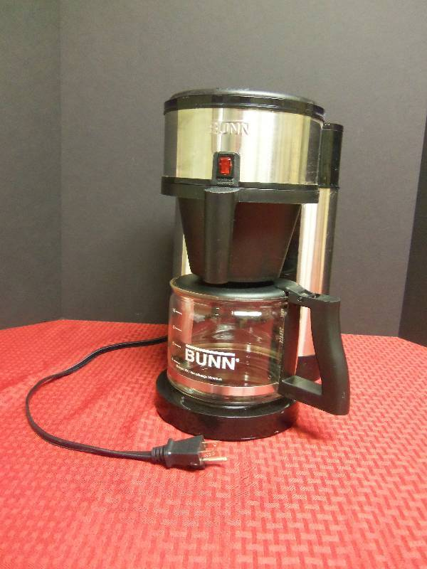 Coffee Maker With Internal Hot Water Tank : Bunn Coffee Maker February Consignment 1001 K-BID