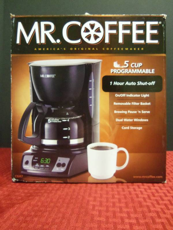 Mr Coffee Maker Cleaning Directions : Mr. Coffee Coffee Maker February Consignment 1001 K-BID