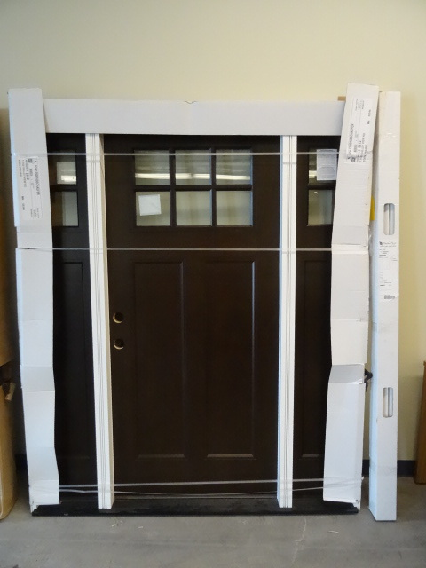 Brand new exterior door and frame hopkins remodel and for Exterior door brands