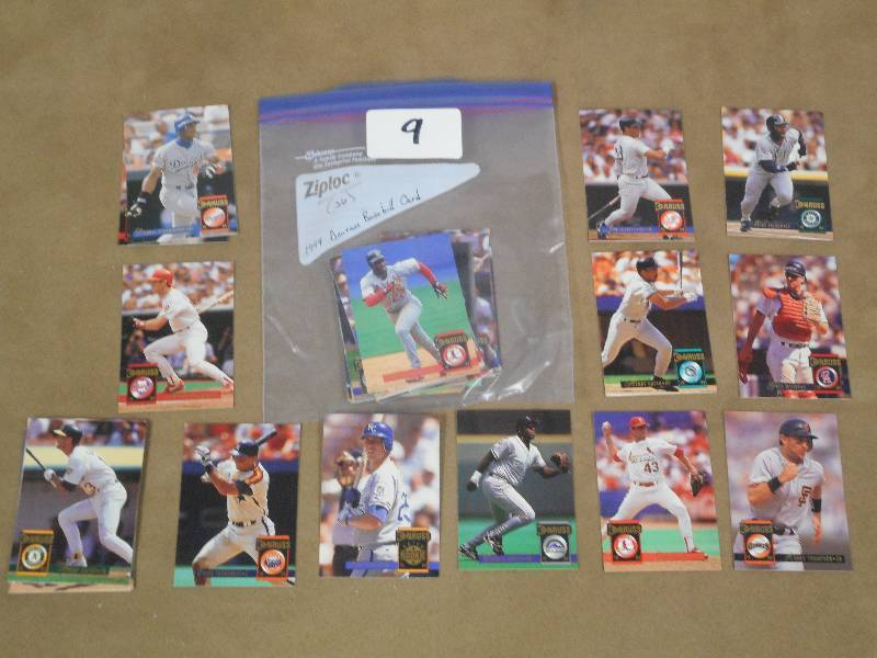 1994 Donruss Baseball Cards Quant Le February Coins Cards