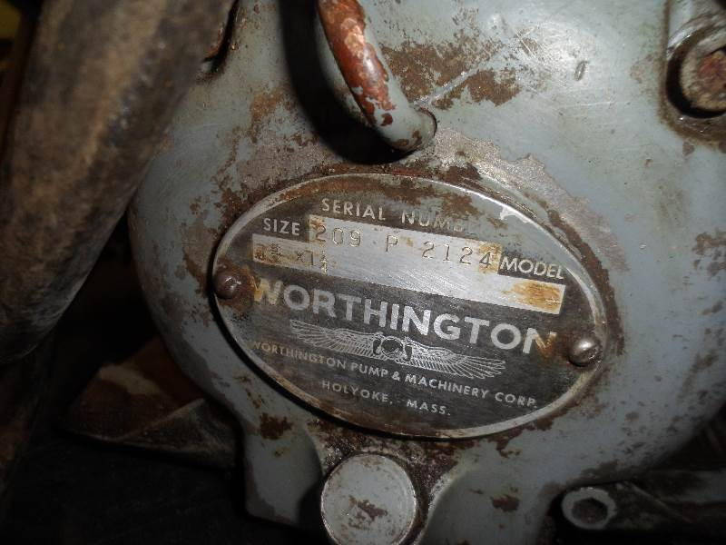Vintage Worthington Air Compressor Something For
