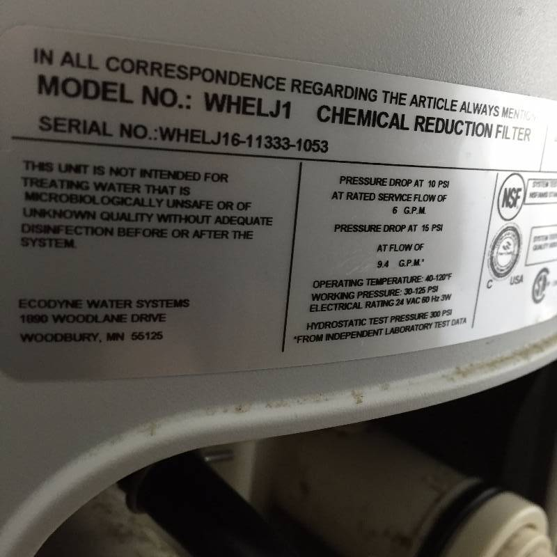 Big Wow Whirlpool Gold Whole House Water Chemical