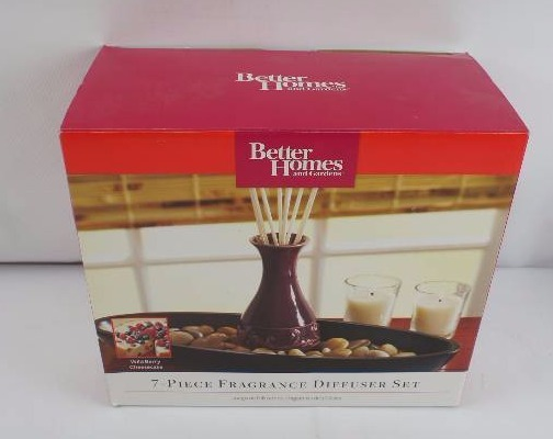 Better homes and gardens 7 piece fragrance diffuser set american specialties super extravagant Better homes and gardens diffuser