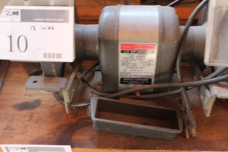 Sears Bench Grinder Independence Wi Estate Sale K Bid