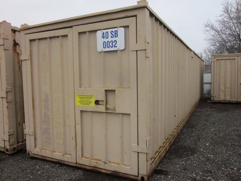 Nine containers 48 ft rail container 10 ft cargo box for Shipping containers for sale in minnesota