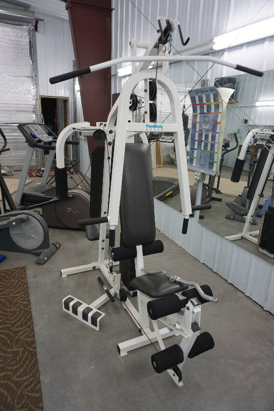 parabody ex350 weight machine