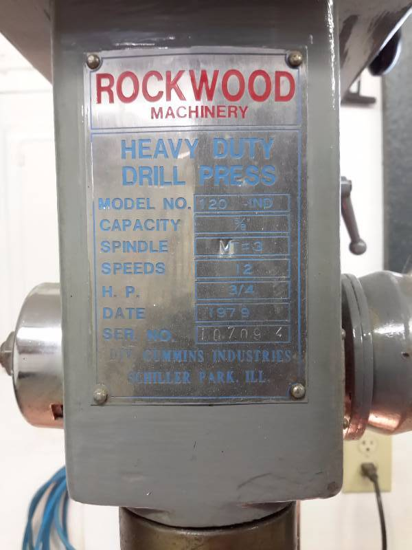 Rockwood 10 Piece Hvlp Paint Gun Set: Rockwood, Heavy Duty 5/8 In Capacity, Drill Press Model