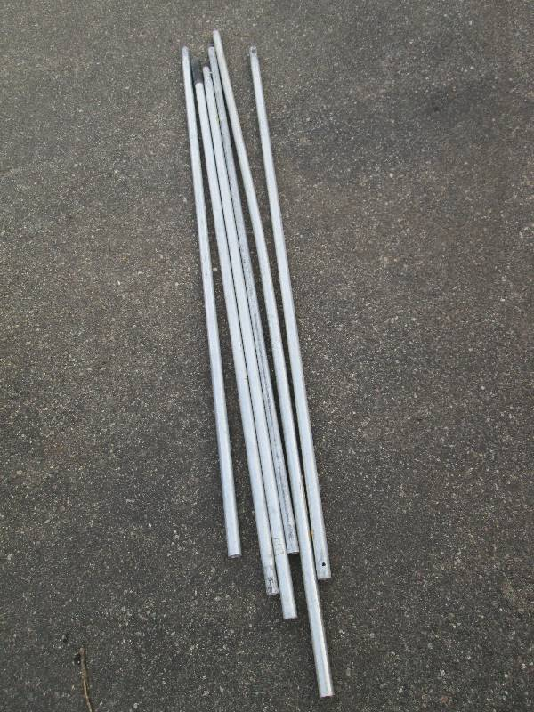 6 Aluminum Extension Poles For Roof Rake Empire