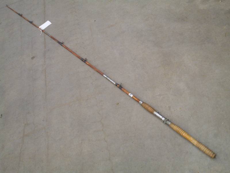 Heavy duty split bamboo rod le march fishing for Heavy duty fishing rods
