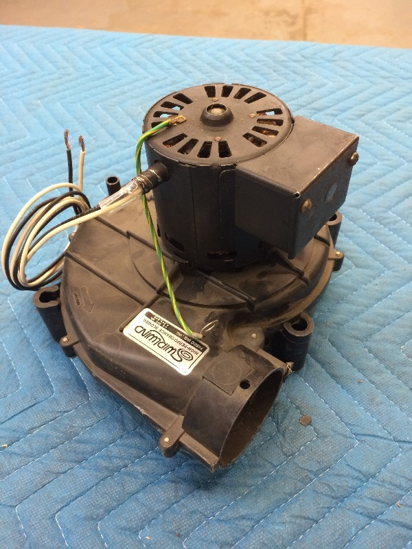 Furnace Inducer Combustion Fan Motor Hvac R Plumbing