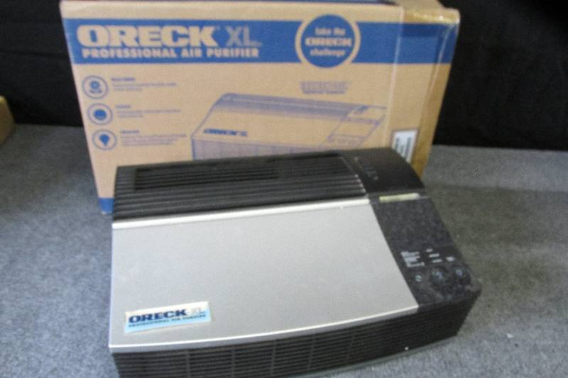 oreck xl air purifier manual