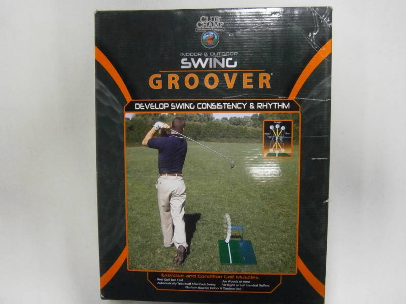 Club Champ Swing Groover Golf Practice Trainer