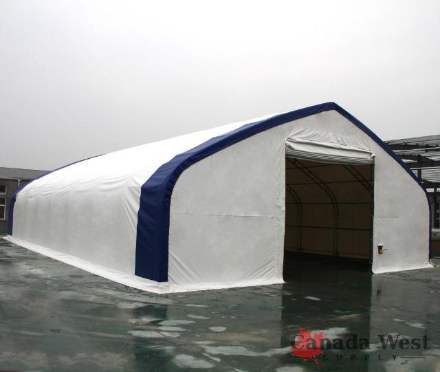New Steel Framed Fabric Storage Building Party Tent