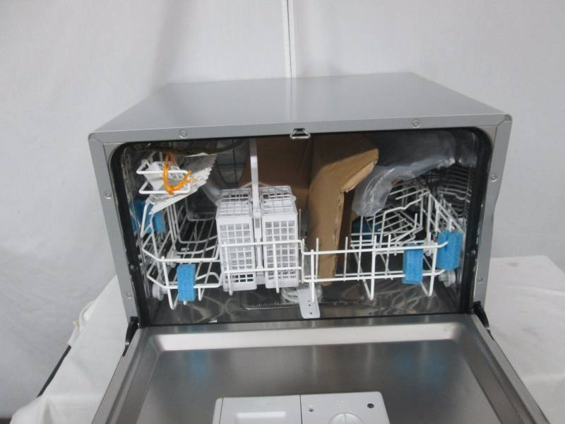 Spt Countertop Dishwasher Installation : SPT Countertop Dishwasher - Silver March Store Returns #9 K-BID