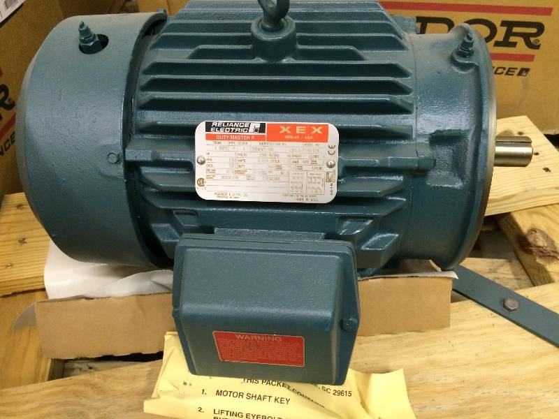 Reliance Electric Duty Master Motor Brand New Lot K Bid