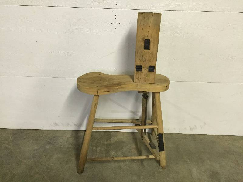Vintage Rare Leather Stitching Horse From J D Randall Co