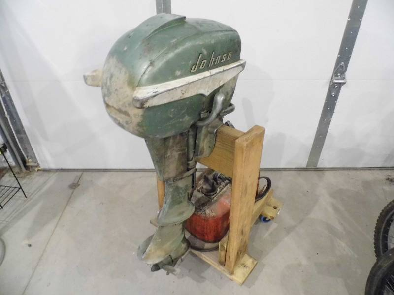 Johnson sea horse boat motor april 2 consignment k bid for 4 horse boat motor