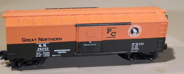 Cool Toy Train Cars : Model trains collectible great northern rail car twc