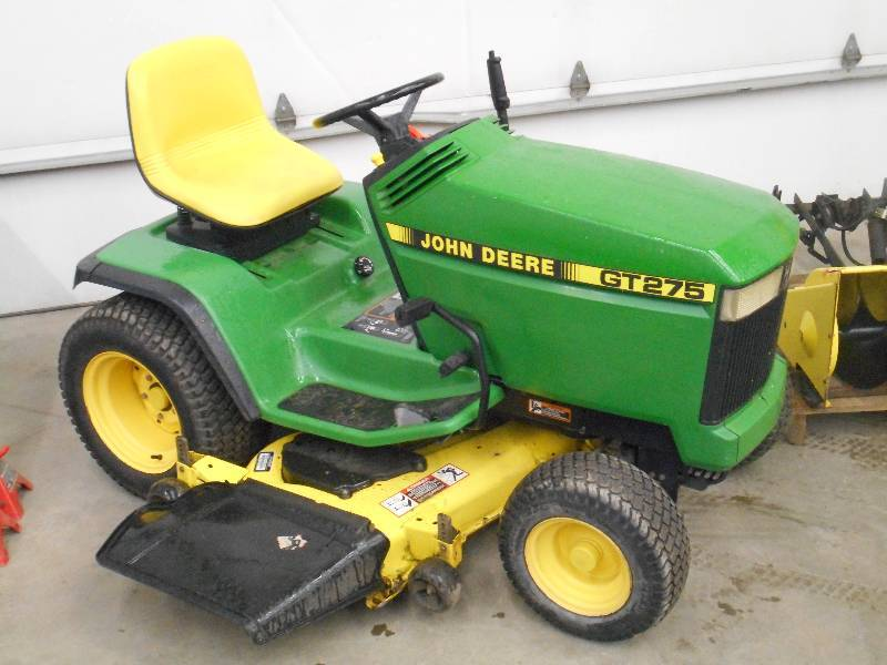 John Deere Gt275 Lawn Tractor With 38 Quot Snowblower Amp 48